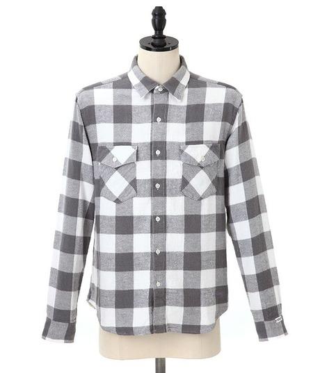 GOODENOUGH [ グッドイナフ ] BUFFALO FLANNEL SHIRTS (バッファローフランネルシャツ )