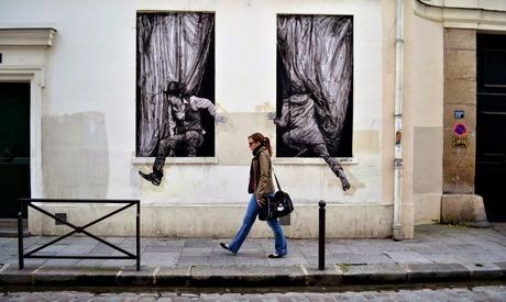 Levalet New Street Pieces Paris, France