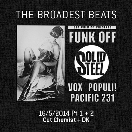 MIX DOWNLOAD: Solid Steel Radio Show mixed by Cut Chemist + DK