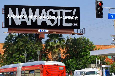 HAZE Adam MCA Yauch Memorial Billboard