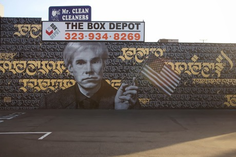 Cryptik x Nick Flatt New Mural For Branded Arts - Los Angeles, USA