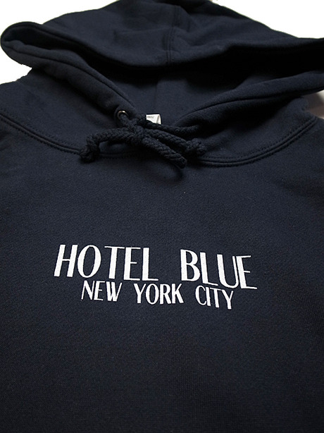 HOTEL BLUE ホテルブルー LOGO HOODY