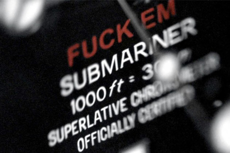 SUPREME × ROLEX Submariner 2013 SS FUCK'EM