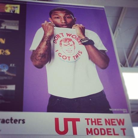 Pharrell Models For Uniqlo UT