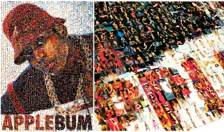 APPLEBUM LL Mosaic Poster