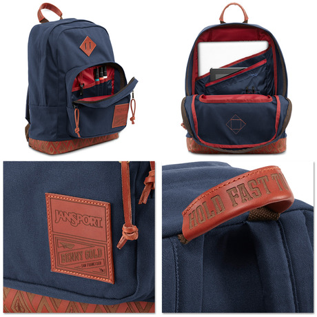 JanSport × Benny Gold × Red Wing Leather Right Pack