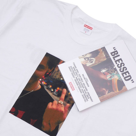 SUPREME 18FW BLESSED DVD + TEE