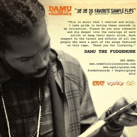 MIX DOWNLOAD: Damu's Top 10 Sample Flips ALL VINYL MIXTAPE