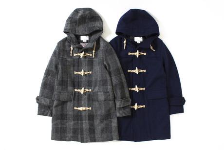 nanamica 2013 Winter Harris Tweed Duffle Coat