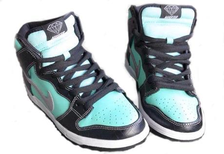 Diamond Supply Co. x Nike SB Dunk High - Teaser