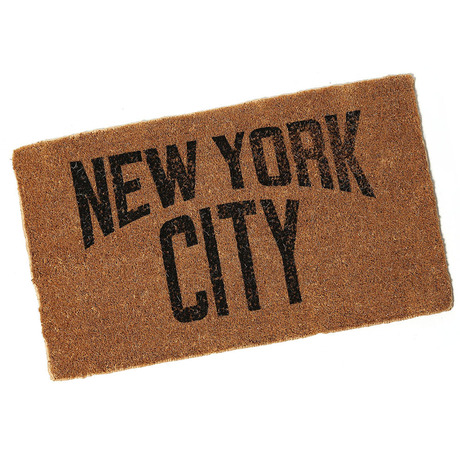 SECOND LAB.  NYC ENTRANCE MAT COCONUT PALM