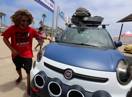 VANS X FIAT 500L 2014 U.S. OPEN OF SURFING CONCEPT