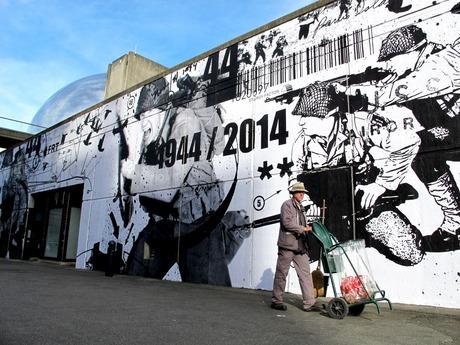 WK Interact D Day 70th Anniversary @ Vilette Paris la Geode Paris