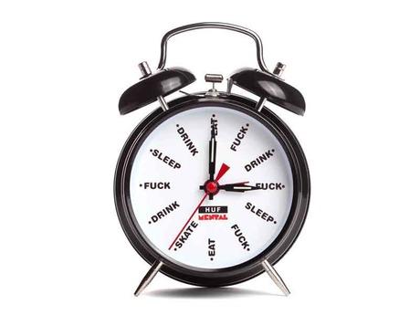 HUF X SKATE MENTAL ALARM CLOCK