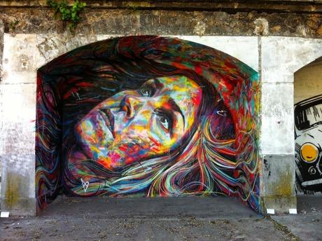 David Walker New Mural Aubervilliers, France