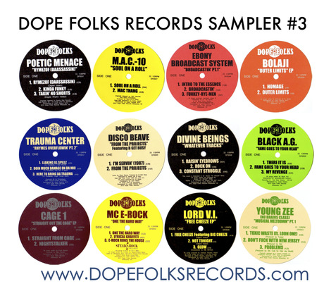 MIX DOWNLOAD: Dope Folks Sampler #3 for Wax Poetics