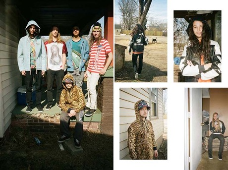 SUPREME SS 2014 COLLECTION EDITORIAL BY HARMONY KORINE FOR POPEYE