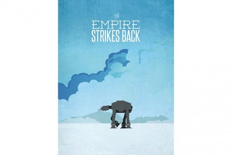 Have a Look at Ryan McArthur's Minimalist 'Star Wars' Trilogy Posters