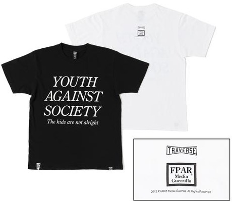 FORTY PERCENTS AGAINST RIGHTS TRAVERSE TOKYO YOUTH OF TODAY TEE