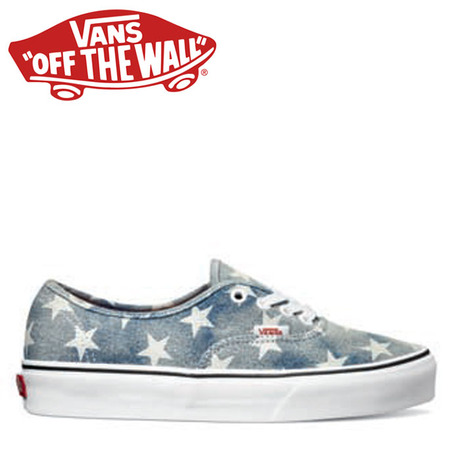 VANS AUTHENTIC WASHED STARS/BLUE