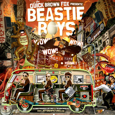 Beastie Boys    Wow! Wow! Wow! Remix Tape Volume 1 mixed by Quick Brown Fox(DOWNLOAD)