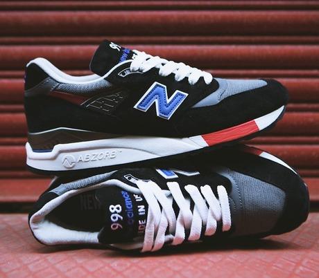New Balance 998 Black Grey