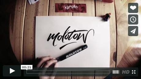 MOLOTOW Aqua Ink Nicolas Rojas Leon Video