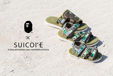 A BATHING APE × SUICOKE