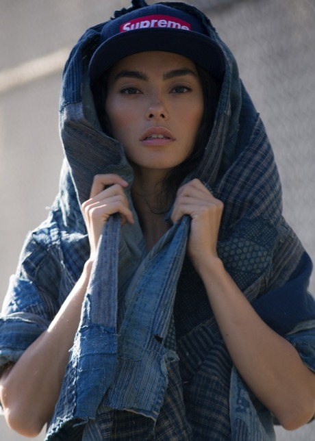 SWEAT THE LOOK DEEP BLUES with Adrianne Ho