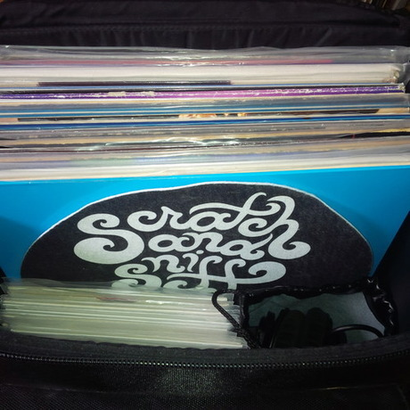 Friday Nights Bag mixed by Scratchandsniff