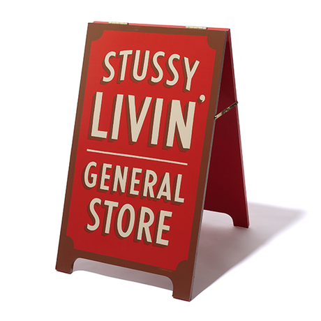 Sign Painting by Jeff Canham   STUSSY Livin' GENERAL STORE