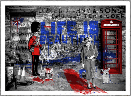 Mr Brainwash Jubilation ART Print Available Today