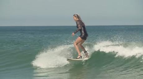SURF IN HIGH HEELS