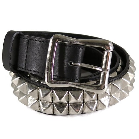 WTAPS 2011SS BELT LEATHER STUDS