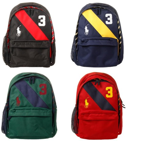 POLO by Ralph Lauren Banner Stripe Backpack