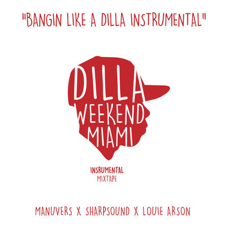 CELEBRATE J DILLA BIRTHDAY WITH THE NEW BANGIN LIKE A DILLA INSTRUMENTAL MIXTAPE mixed by DJ Manuvers, DJ Sharpsound and LouiArson (DOWNLOAD)