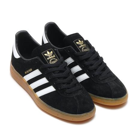 adidas Originals MUNCHEN CORE BLACK/RUNNING WHITE/GUM