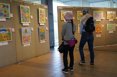 緑化ホール展示2
