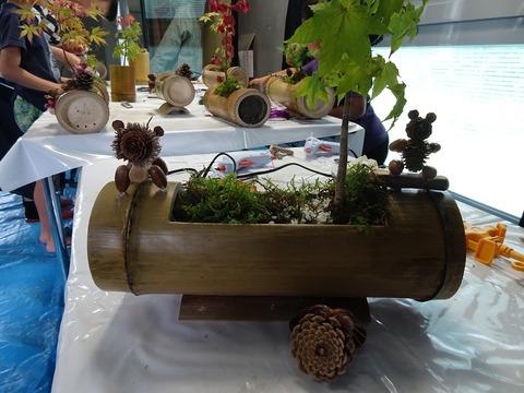 竹の植木鉢DSC02959