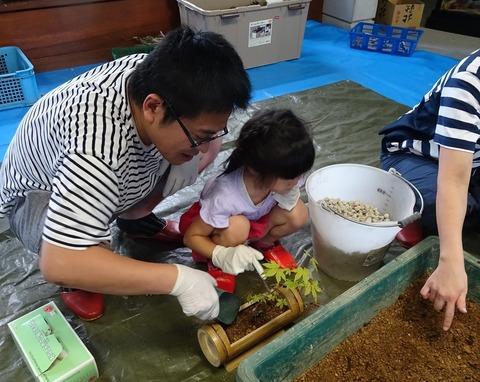 竹の植木鉢DSC02946