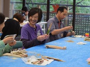 完成!折り紙で作る箸袋のおまけつき