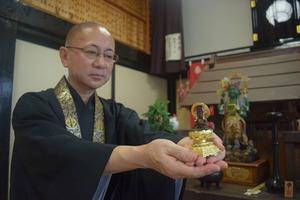 滋賀の寺の神像の中から謎の「秘仏」が見つかる