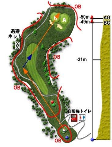 津久井湖GCしらゆり7番2