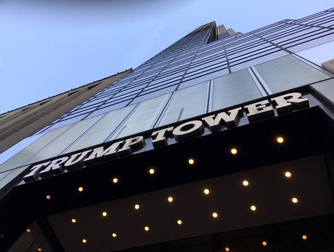 トランプタワー@NY