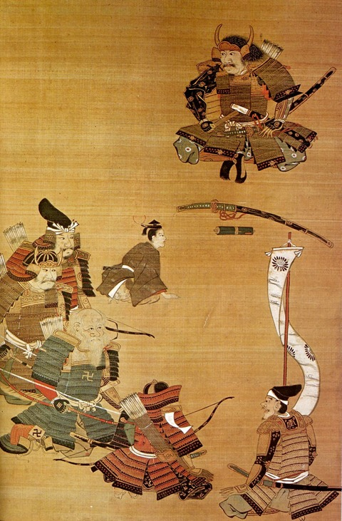 桜井の宿訣別図