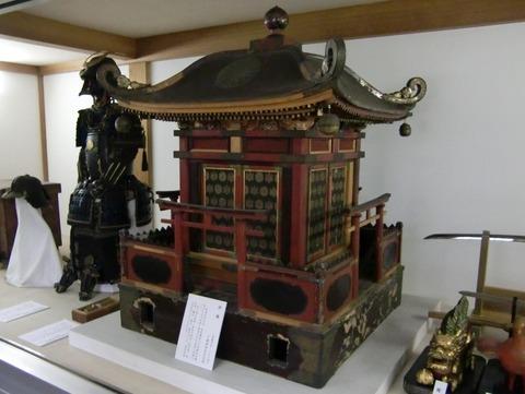 飯香岡八幡宮宝物殿に収蔵されている御神輿