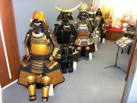 髙津商会の甲冑