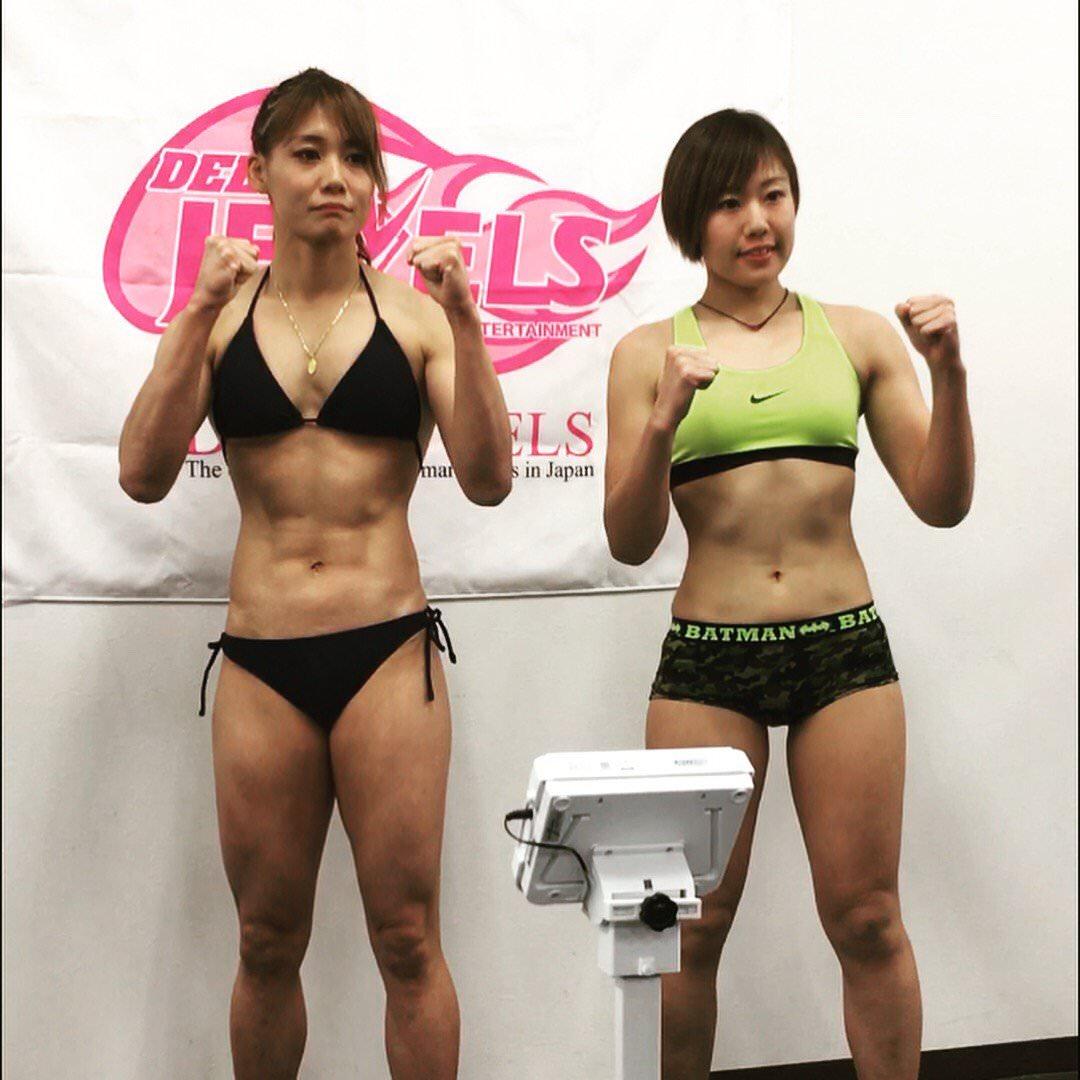 柔道家、渡辺華奈ちゃん (29) の筋肉ムッキムキボディwww