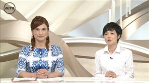 日テレ ニュースZEROにALFEE高見沢そっくりの美女現るの画像