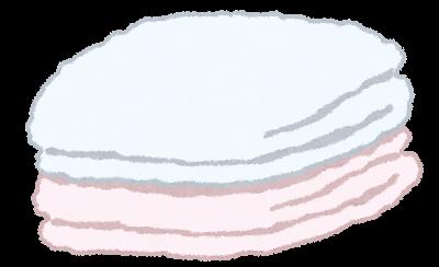 バスタオルを何日かの1回洗う勢